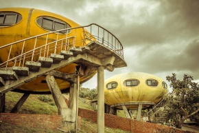 The abandoned UFO pods ofTaiwan