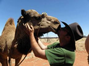 The modern-day cameleer  :: meet Kamahl Druesne and his Compassion Camel Caravan
