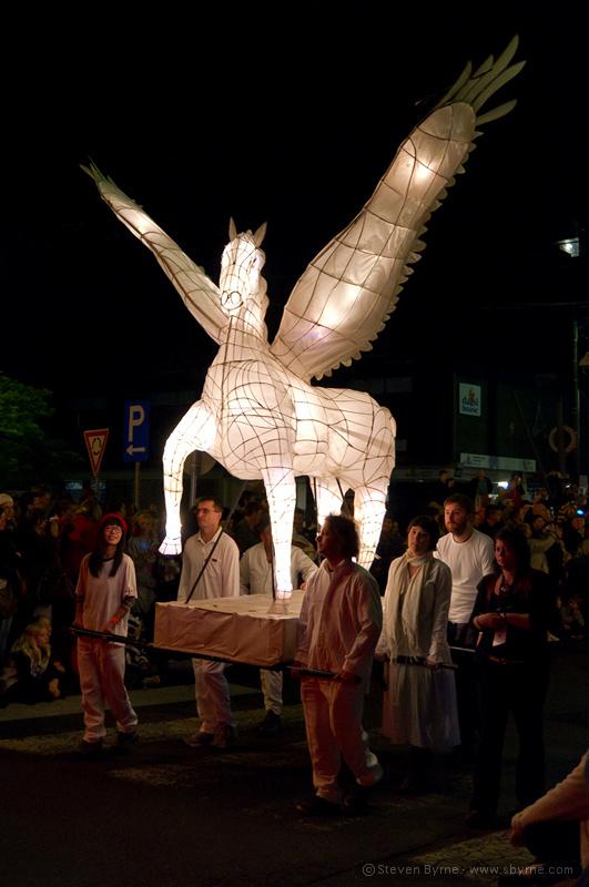 Pegasus lantern