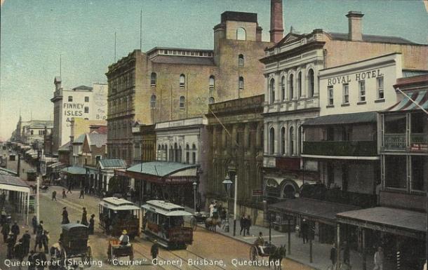queen street 1910