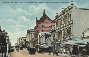 Hand-Coloured Postcards :: Queensland from 1905 until 1915